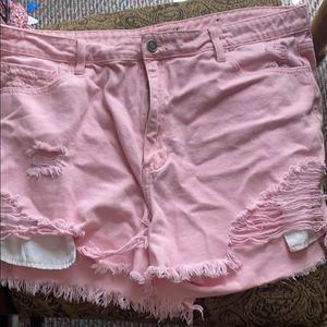 Fashion nova pink shorts